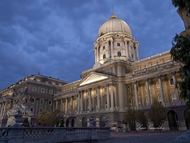 Budapest Palacio Real (Budavári Palota).