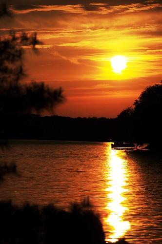 trees sunset sky orange sun lake color nature water wisconsin beaverdamlake foxlaketownship mygearandmepremium onlythebestofnature