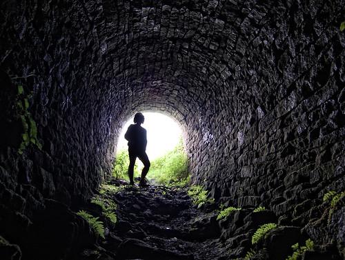 Inside Barratt's Incline Mine Entrance | by tj.blackwell