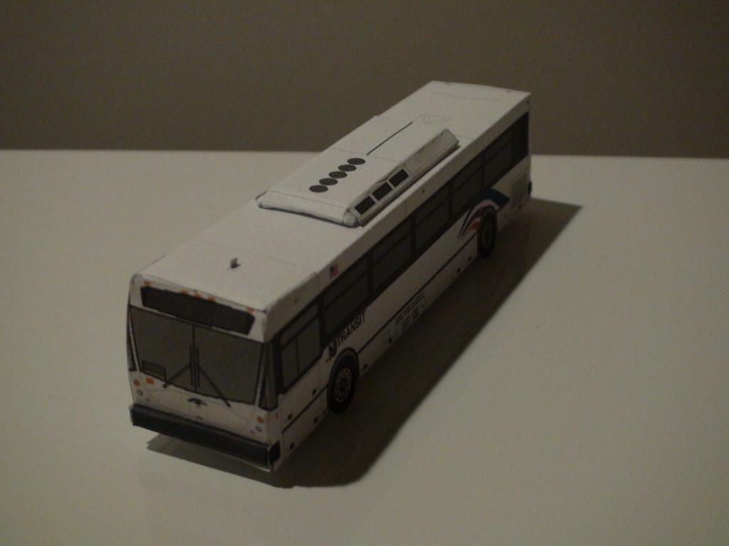 Paper Bus Nj Paper Bus Depicting A Nj Transit Nabi 416