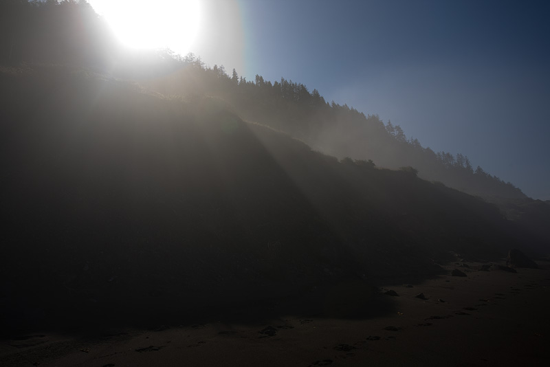 First Sun on the Lost Coast by AlwaysJanuary (Randy)