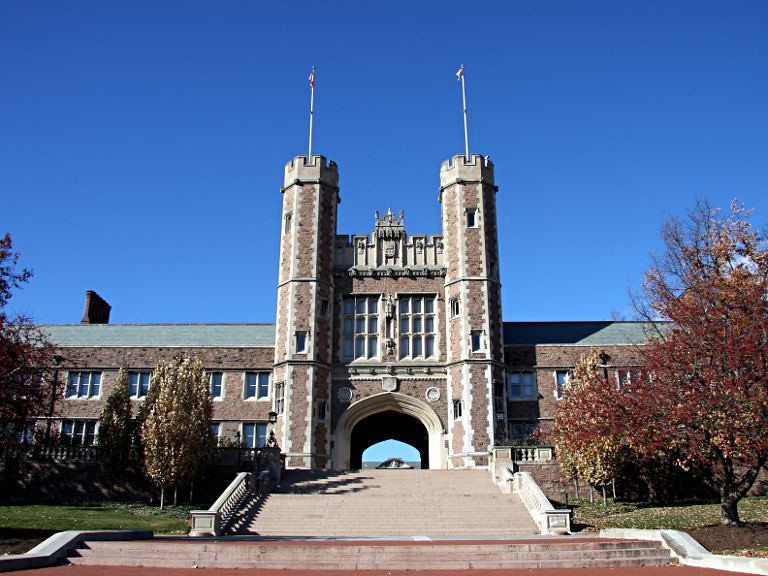 Washington University in St. Louis | Brookings Hall (named f… | Flickr