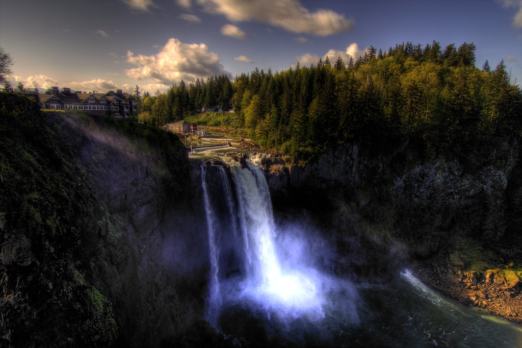 Snoqualmie Falls by Justin Kraemer Photography