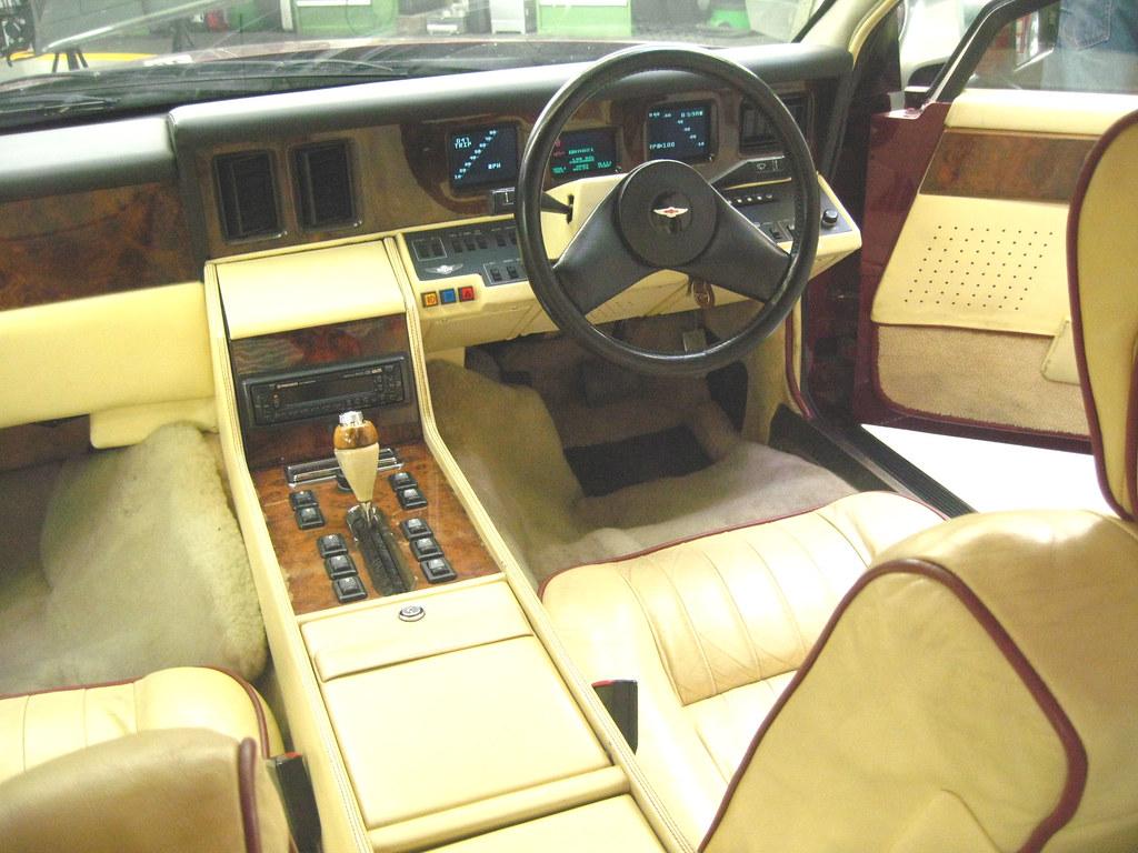 Aston Martin Lagonda 1984 Interior Fergus Mciver Flickr