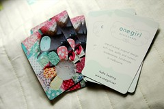 business cards | by leslie.keating