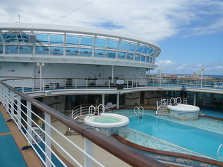 One of the 5 Caribbean Princess Pools | by theplaz