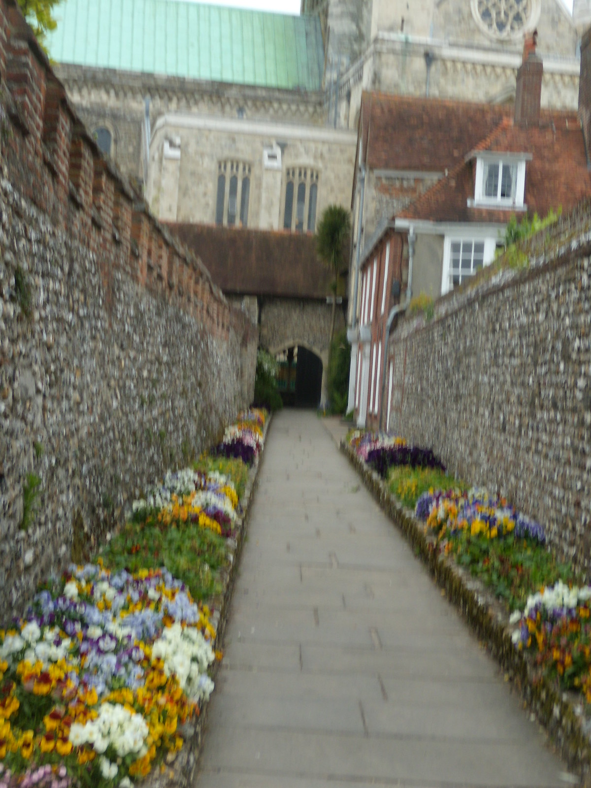 Bishops Garden, Chichester Cathedral Southbourne to Chichester