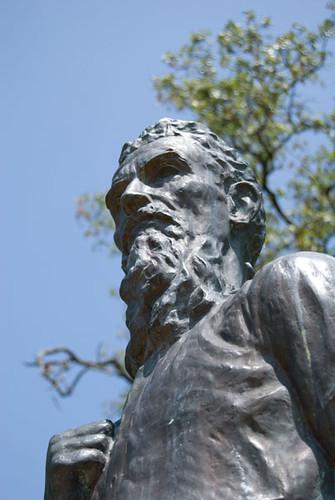 history statue kansas adair undergroundrailroad johnbrown osawatomie bleedingkansas