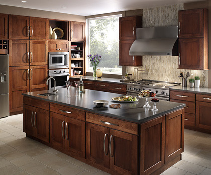 Contemporary Kitchen Cabinets - Fieldstone Cabinetry | Flickr