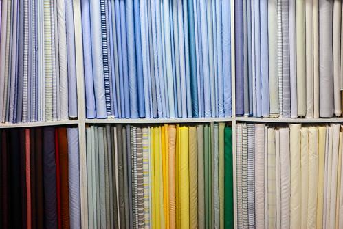 Fabric markets in Shanghai | by Kris Krug