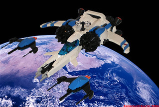 Ice Wolf Trans-Atmospheric Fighter (Terran-Lunar Alliance) | by pguenthe