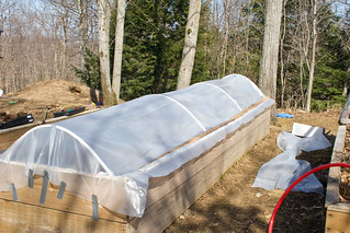 Humble Garden 2009: Completed cold frame | by nikaboyce