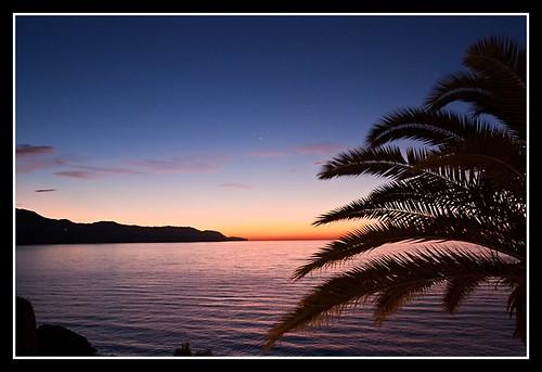 sea españa sunrise mar spain andalucia amanecer malaga andres nerja axarquia balcondeeuropa canon450d breijo andresbreijo