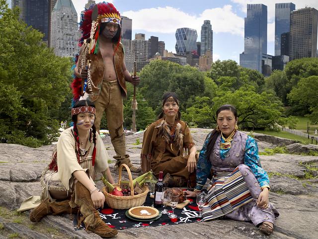 """Picnic, Central Park (""""I ♥ NY"""" series), 2009"""