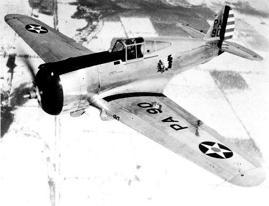 Curtiss : P-36A/B : Hawk