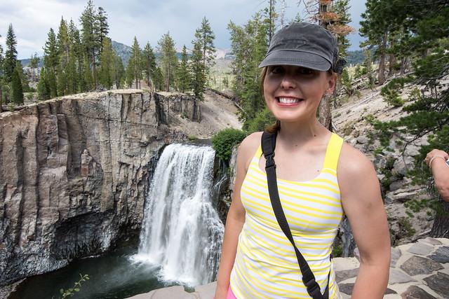 Me at Rainbow Falls