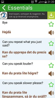 Swedish Phrasebook | by Laloe.be