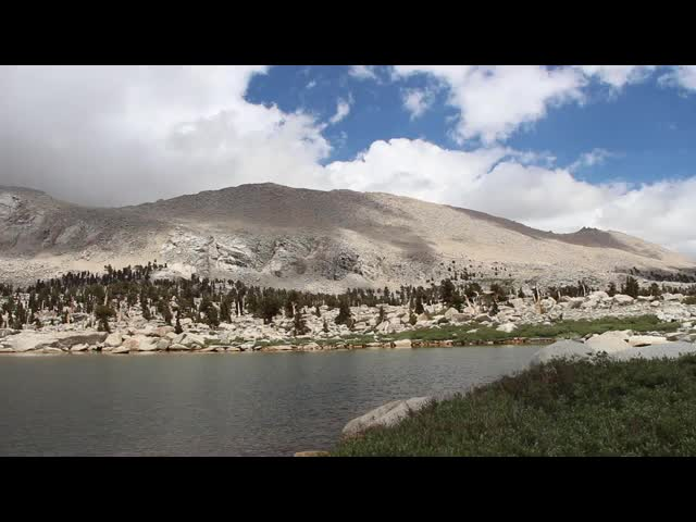 0644 Panorama Video of Cottonwood Lake Number 5 and Old Army Pass