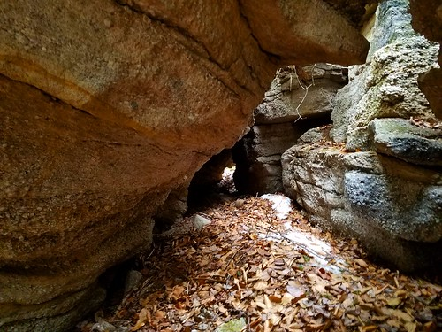 Caves, chasms