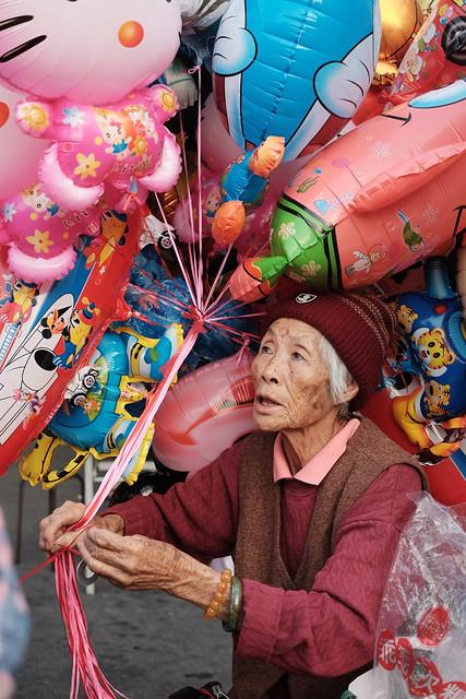 Baloon Grandma