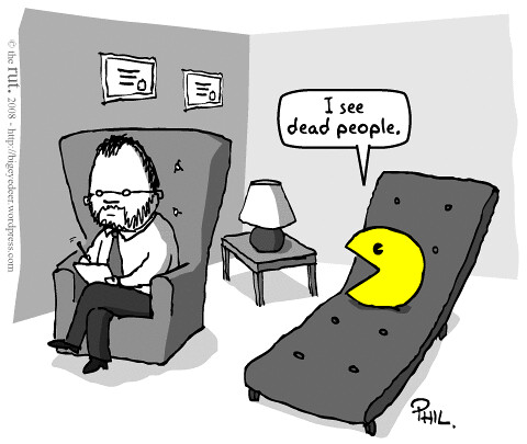 Pacman has some issues...