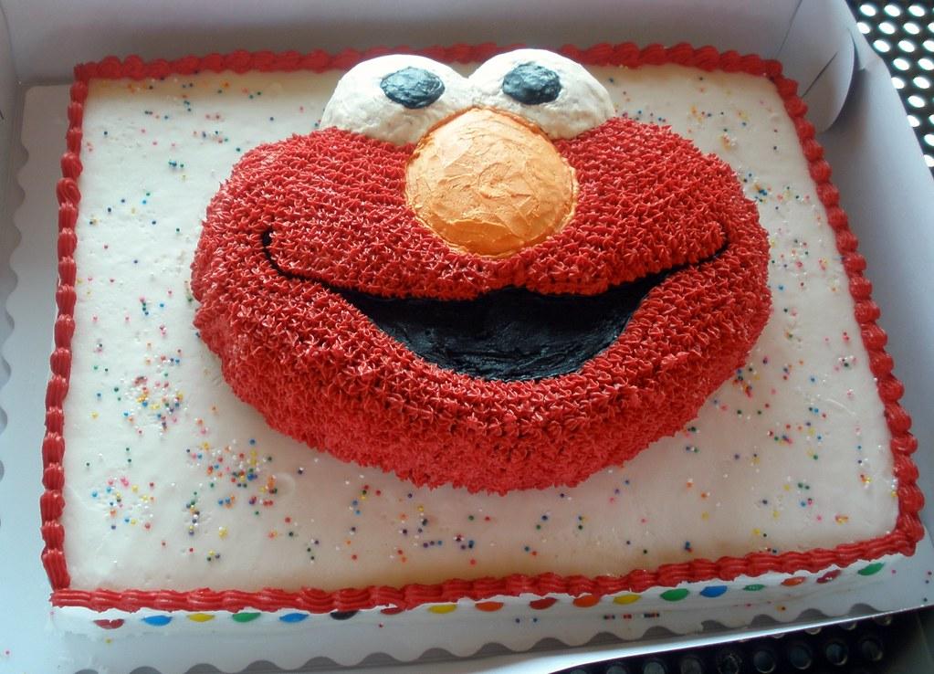 Brody S Elmo Birthday Cake Nicole Brody S Mother And Lis