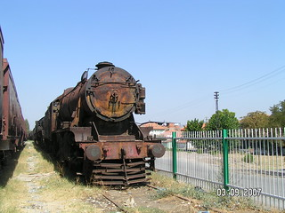 Stanier 8F 45165 in Alasehir Dump, Turkey 2008 | by keith76079