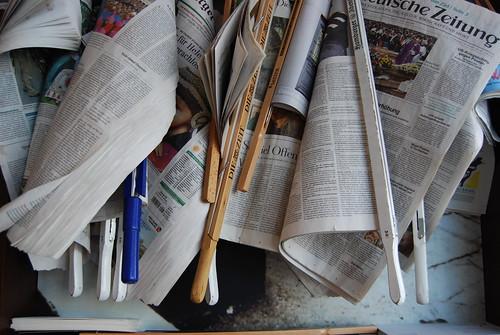 Zeitungen | by nickboos