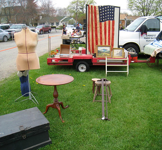 Flag and Tilt Top Table@ Todd's Farm | by katy elliott