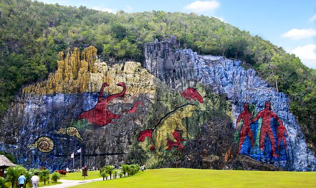 Mural De La Prehistoria - Parque Nacional De Viñales - 3674