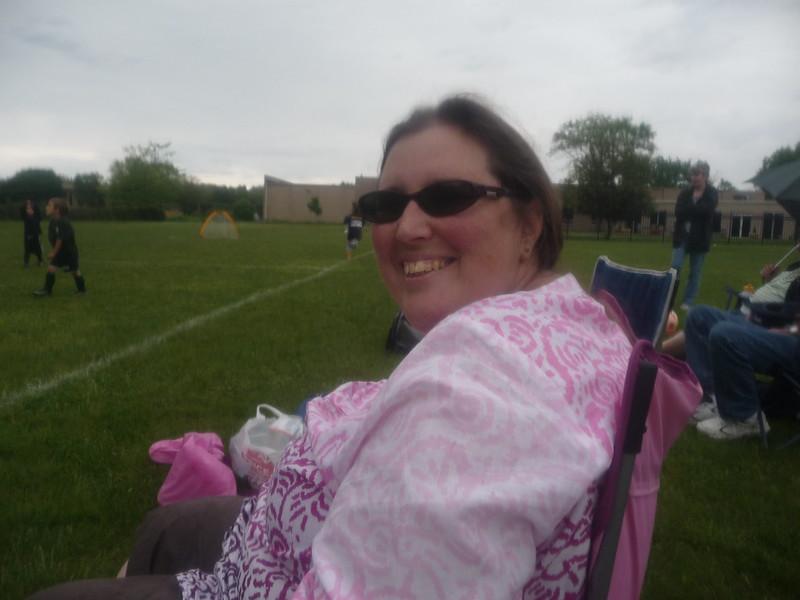 Rainy Soccer Mom