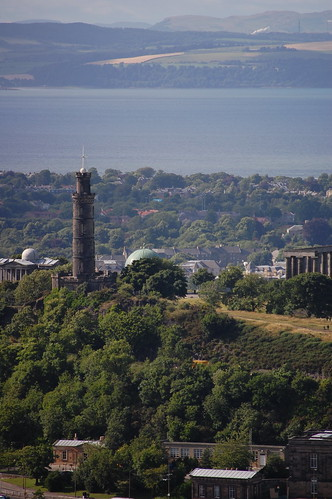 Nelson's Monument from Holyrood Park | by agperson