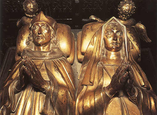 Tomb Effigies of Henry VII and Elizabeth of York | by lisby1