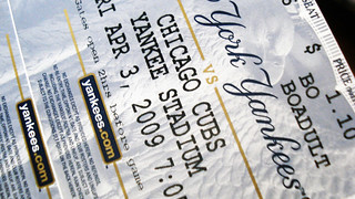 2009 YANKEE TICKET | by Peralta Daniel