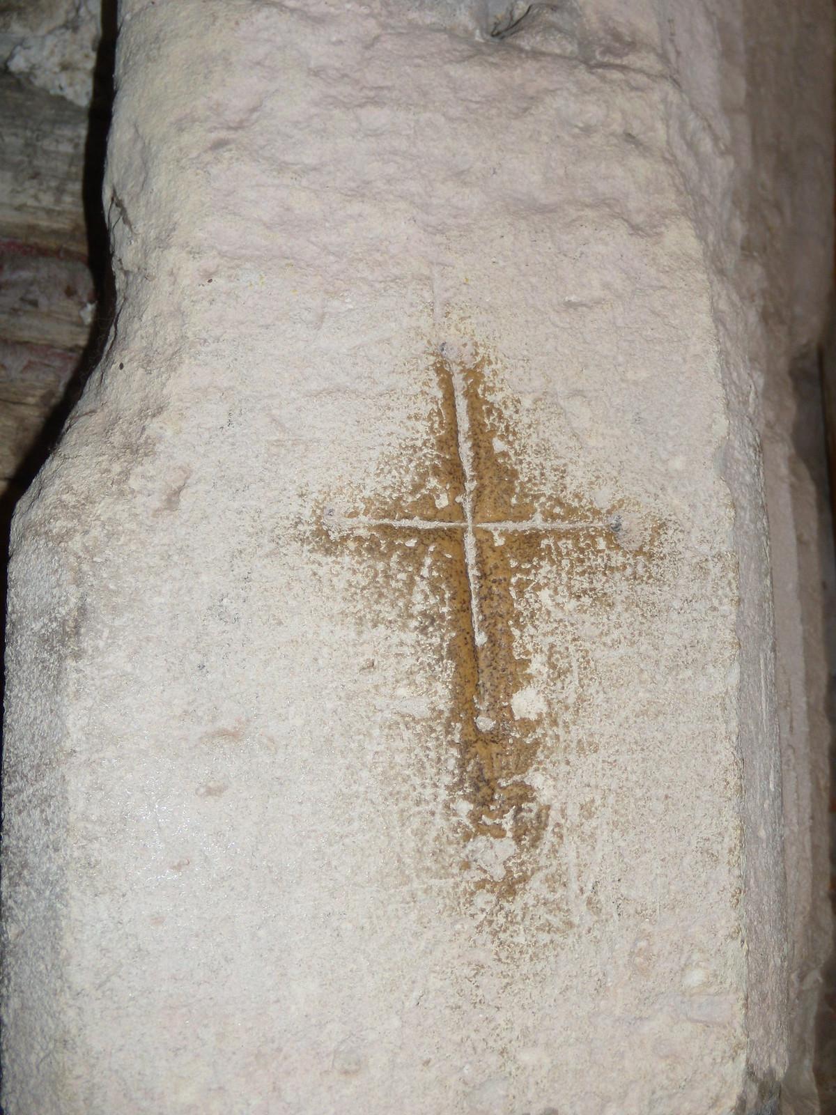 Crusader's mark, Bosham Church Southbourne to Chichester
