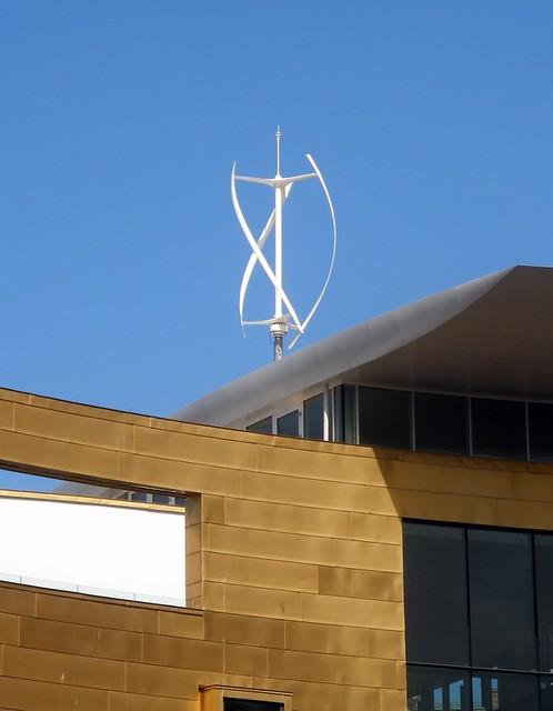 Vertical axis wind turbine   Anders Sandberg   Flickr