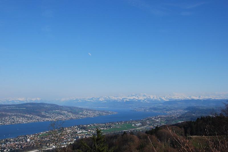 Alps from Uetliberg