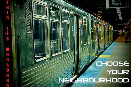 Choose your neighbourhood