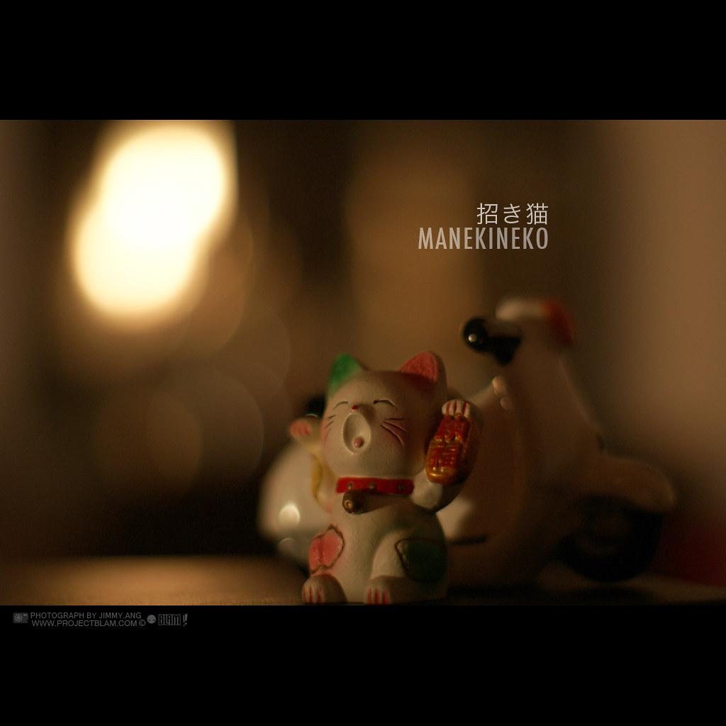 Day Fifty Two - Manekineko by jimmy ang