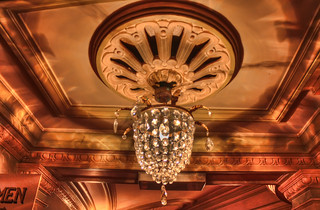 Kings Theatre - Light Fixture | by Hexagoneye Photography