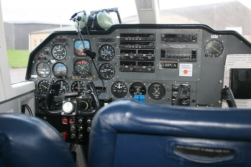 The Cockpit of the Islander | by Odd Wellies