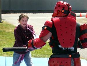 my daughter vs the red man