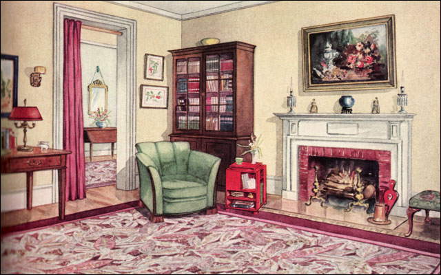 1929 Modern Traditional Living Room | Aside from the general… | Flickr