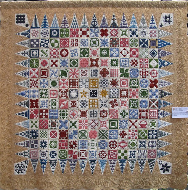 Santa Clara Valley Quilt Show -- Dear Jane