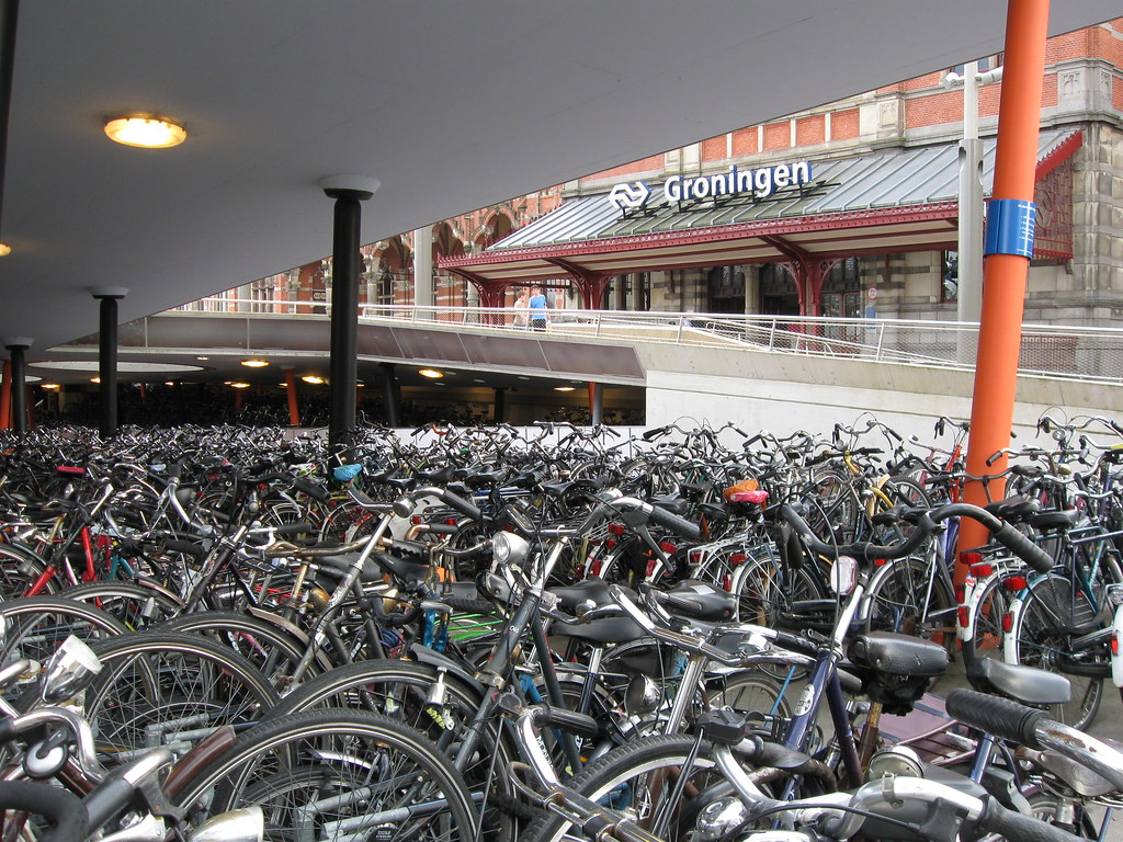 Groningen station bike parking 2 | check it out also on