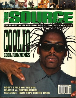 Coolio First Ever Cover, The Source | by lionelane