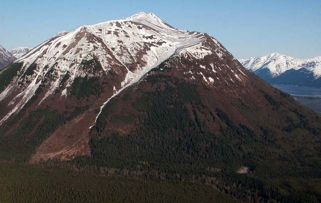 Penguin Peak, immediately south of Bird Ridge