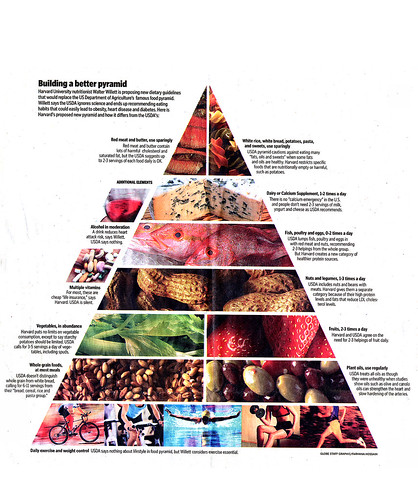 Walter Willette Revised Food Pyramid   by Phil Manker