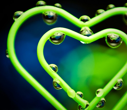 _____ puzzled hearts ______  water refractions | by Linh_rOm