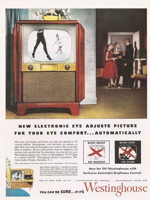New electronic eye adjusts picture for your comfort